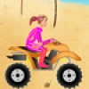 Jeu Beach Girl ATV Race