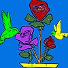 Jeu Coloriage fleur