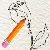 comment dessiner une rose rouge facilement apprendre dessiner. Black Bedroom Furniture Sets. Home Design Ideas