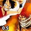 Jeu Fairy Tail Vs One Piece 0.5