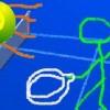 Jeu Stickman Tennis