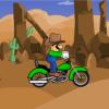 Jeu Cowboy Luigi Bike