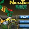 Jeu Ninja turtle bike