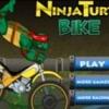 Jeu Ninja turtle bike