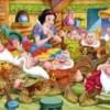 Jeu Puzzle Blanche Neige et les 7 nains
