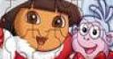 Jeu Puzzle Dora facile