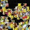 Jeu Puzzle simpson