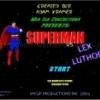 Jeu Superman vs lex luthor