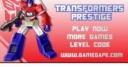 Jeu Transformers prestige